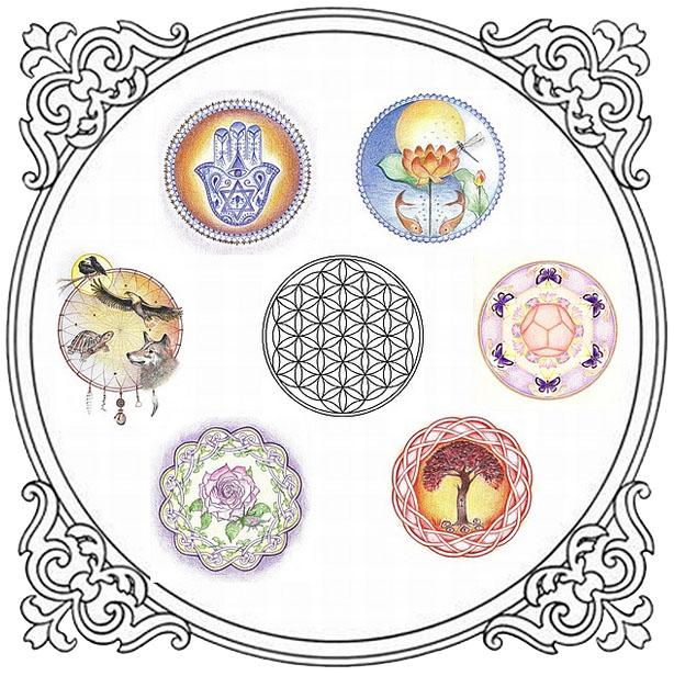 Mandala cursus Losse thema's