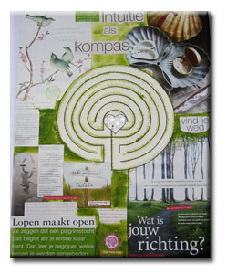 Collage labyrint