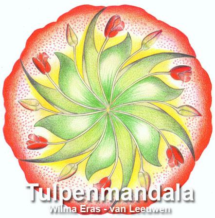 Tulpen mandala